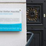 Praxisschild Heilpraktiker Hamburg