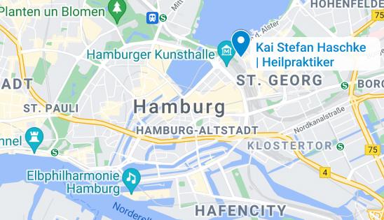 Karte Hamburg Heilpraktiker St. Georg
