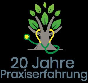 20 Jahre Heilpraktiker Logo